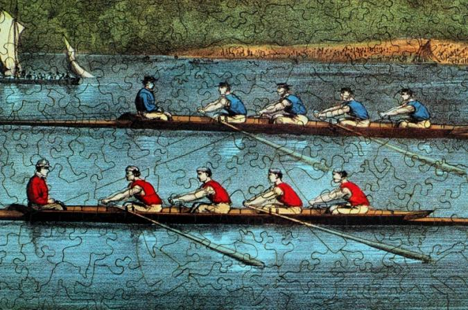 Great International Boat Race - Liberty Puzzles - 8
