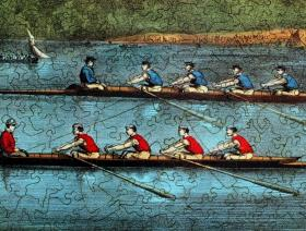 Great International Boat Race - Liberty Puzzles - 3