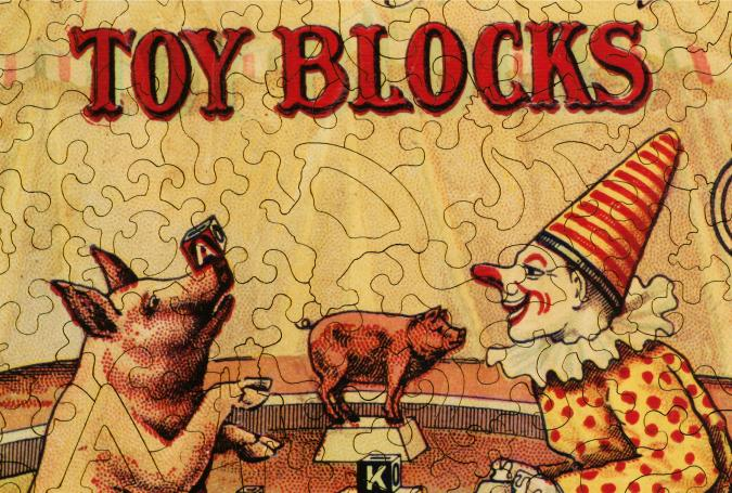 Embossing Company's Toy Blocks - Liberty Puzzles - 8