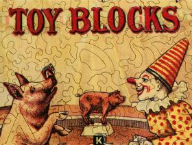 Embossing Company's Toy Blocks - Liberty Puzzles - 3