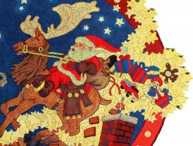 Up on the House Top - Liberty Puzzles - 3