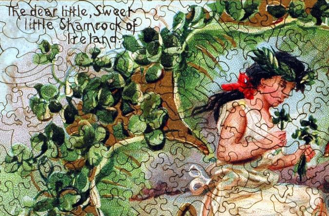 Shamrock of Ireland - Liberty Puzzles - 8