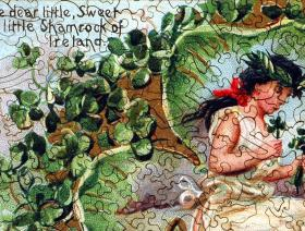 Shamrock of Ireland - Liberty Puzzles - 3