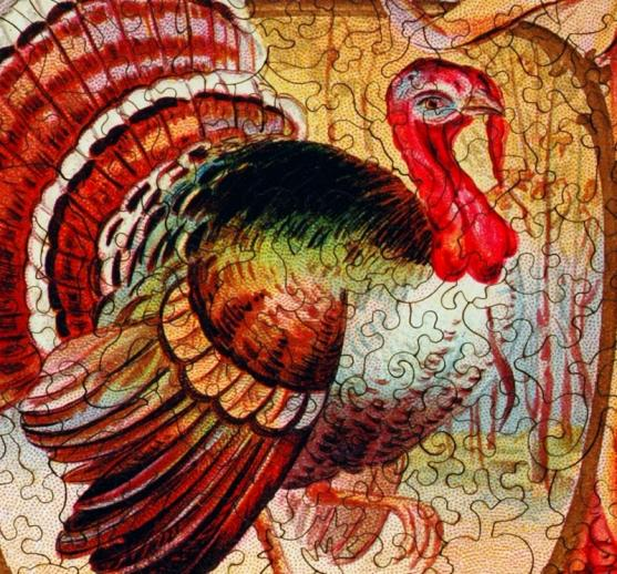 Thanksgiving Greeting - Liberty Puzzles - 8
