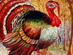 Thanksgiving Greeting - Liberty Puzzles - 3