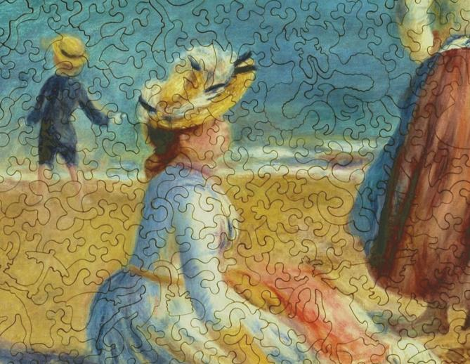 Figures on the Beach - Liberty Puzzles - 8