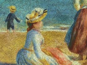 Figures on the Beach - Liberty Puzzles - 3