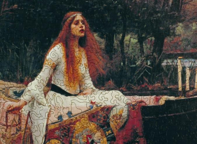 The Lady of Shalott - Liberty Puzzles - 8