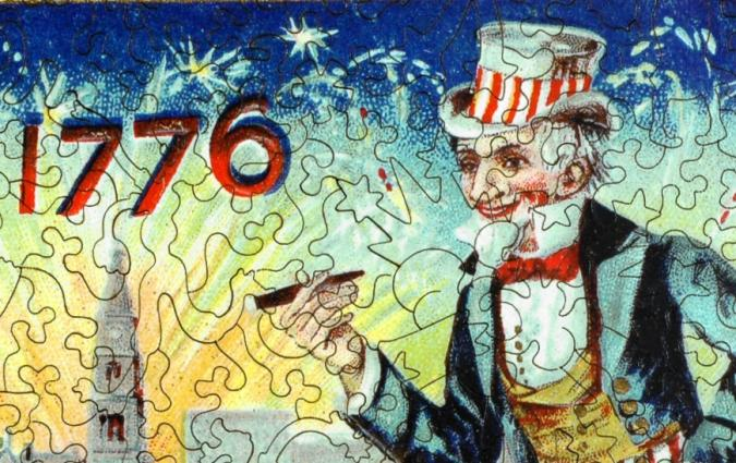 Uncle Sam's Celebration - Liberty Puzzles - 8