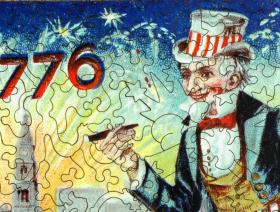Uncle Sam's Celebration - Liberty Puzzles - 3