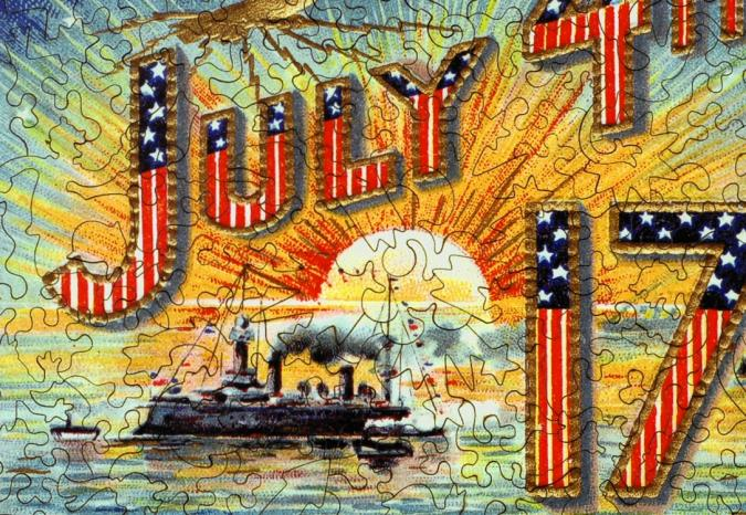 July 4, 1776 - Liberty Puzzles - 8