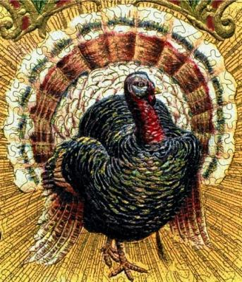 Thanksgiving Postcard - Liberty Puzzles - 8