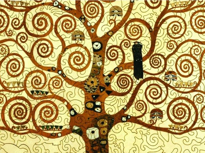 Klimt Tree of Life - Liberty Puzzles - 8