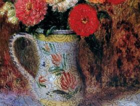 Flowers in a Quimper Pitcher - Liberty Puzzles - 3