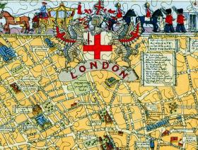 Map of London Large Piece - Liberty Puzzles - 3