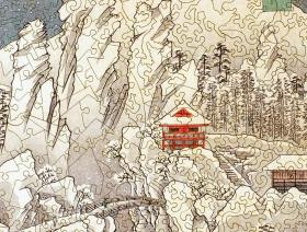 Mount Haruna Under Snow - Liberty Puzzles - 3