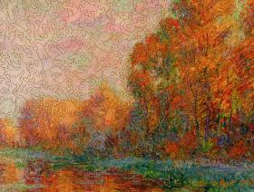 A River in Autumn - Liberty Puzzles - 3