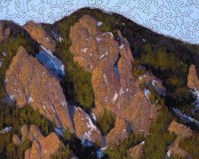 Flatiron Sunrise at the Tangen Tunnel - Liberty Puzzles - 8