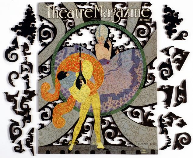 Theatre Magazine, January 1922 - Liberty Puzzles - 12