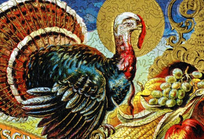 Golden Turkey - Liberty Puzzles - 8