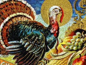 Golden Turkey - Liberty Puzzles - 3