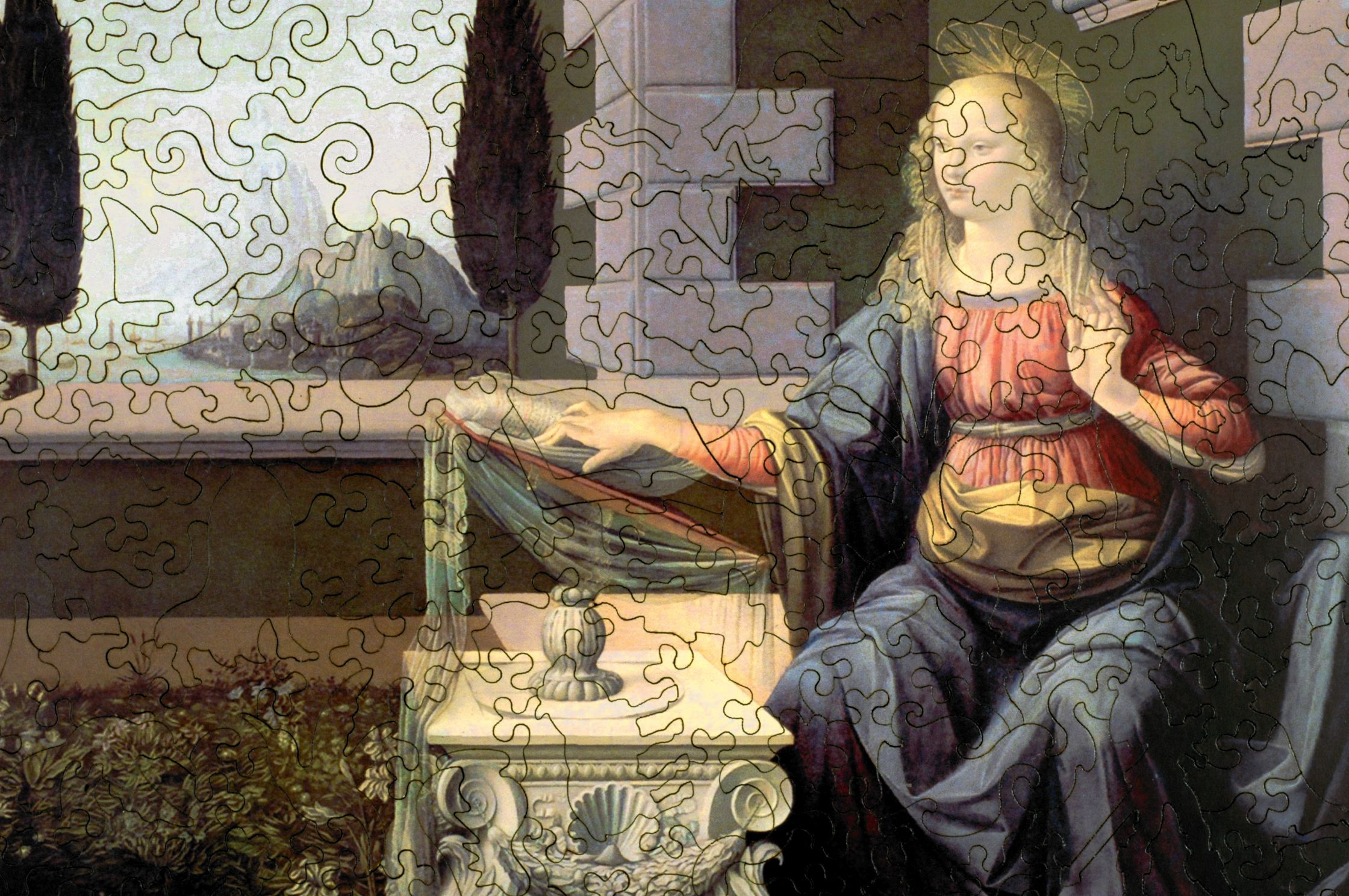 Annunciation Wooden Jigsaw Puzzle Liberty Puzzles