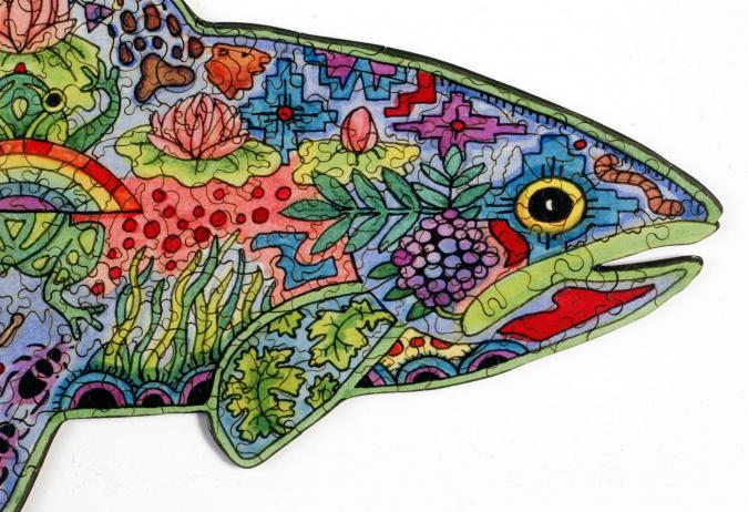 Rainbow Trout - Liberty Puzzles - 9