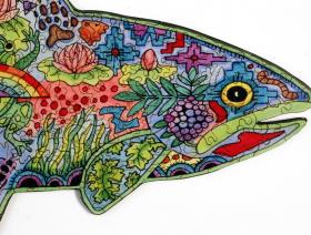 Rainbow Trout - Liberty Puzzles - 3