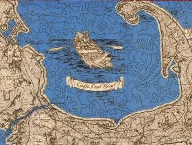 A Map of Interesting Cape Cod - Liberty Puzzles - 3