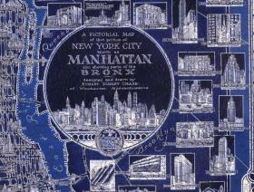 New York City Pictorial Map - Liberty Puzzles - 3