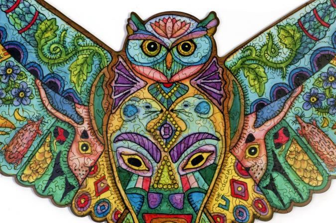 Great Horned Owl - Liberty Puzzles - 8