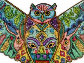 Great Horned Owl - Liberty Puzzles - 3