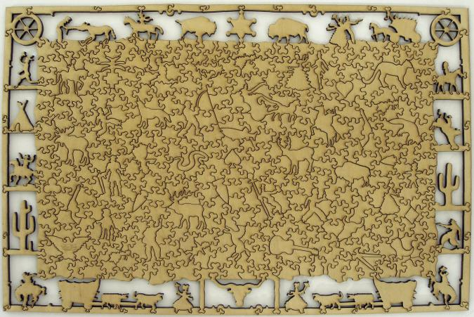 Storm in the Rocky Mountains - Liberty Puzzles - 9