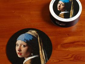 Girl with a Pearl Earring round - Liberty Puzzles - 4