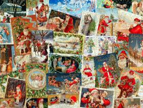 Vintage Christmas Postcards - Liberty Puzzles - 4