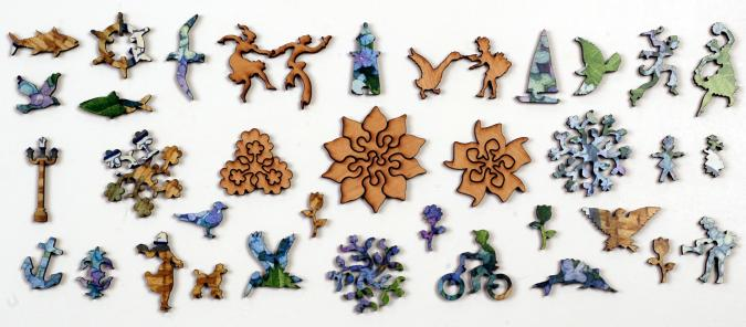 Nantucket Basket - Liberty Puzzles - 9