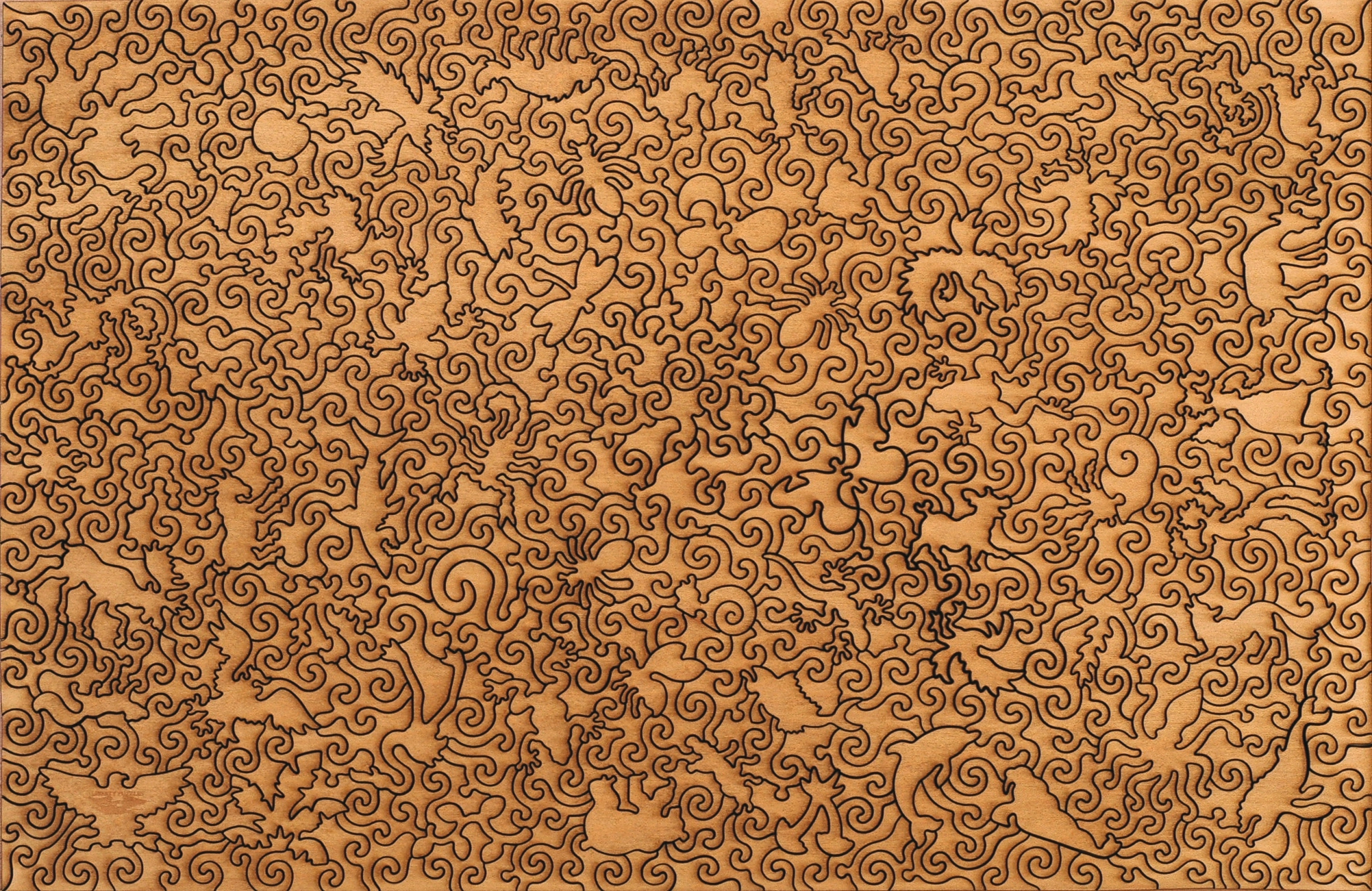 Klimt Tree of Life - Wooden Jigsaw Puzzle - Liberty Puzzles - Made ...