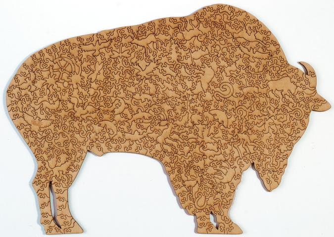 Bison - Liberty Puzzles - 9