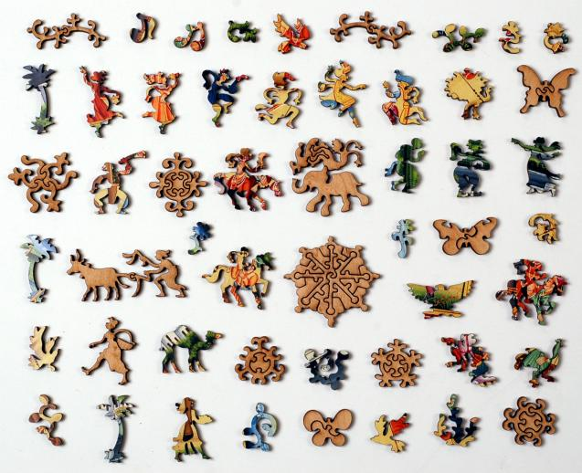 Procession of Akbar, King of the Mughals - Liberty Puzzles - 10