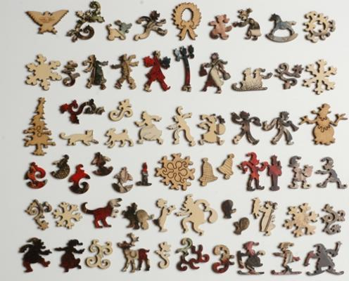 Merry Old Santa Claus - Liberty Puzzles - 10
