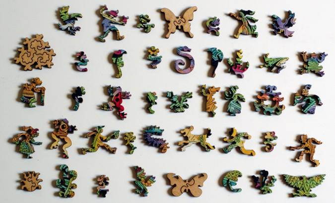 Frog - Liberty Puzzles - 10