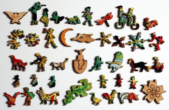Rooster - Liberty Puzzles - 10