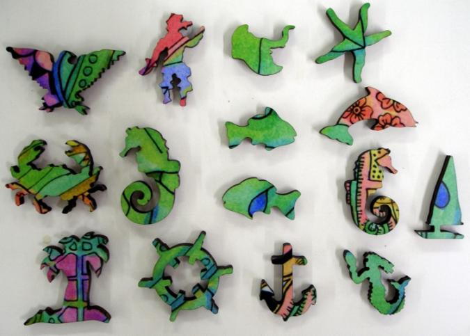Seahorse - Liberty Puzzles - 10