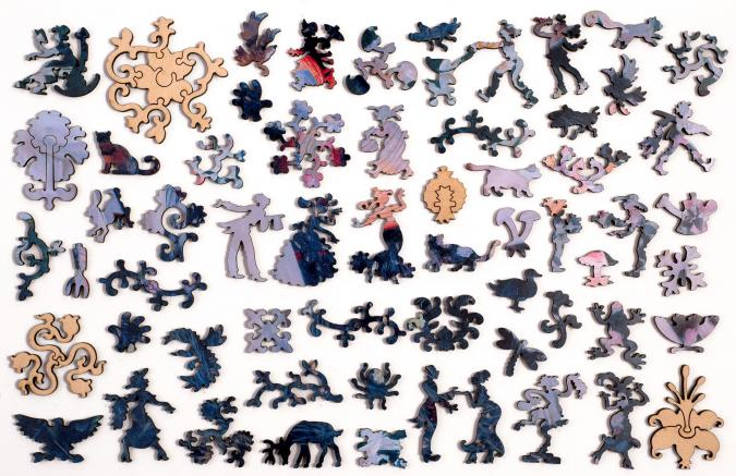 Carnation, Lily, Lily, Rose - Liberty Puzzles - 10