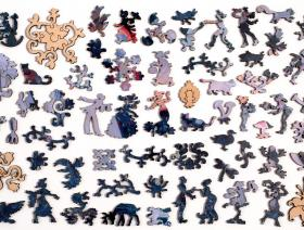 Carnation, Lily, Lily, Rose - Liberty Puzzles - 5
