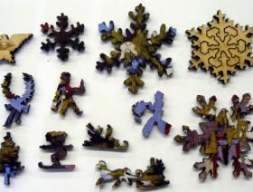 Winter Afternoon, City Street, Toronto - Liberty Puzzles - 5