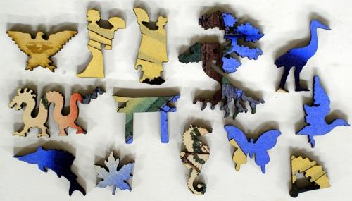 Armor-Hanging Pine - Liberty Puzzles - 10