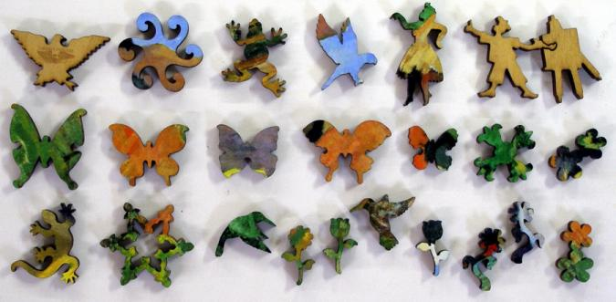 Street in Tahiti Small - Liberty Puzzles - 10