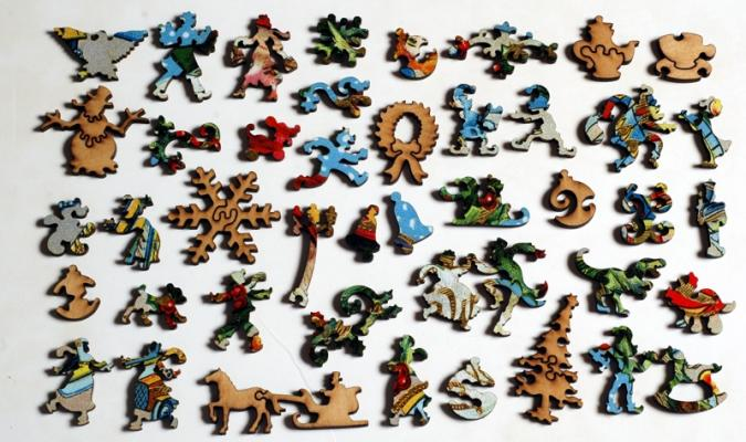 Santa's Toy Collection - Liberty Puzzles - 10