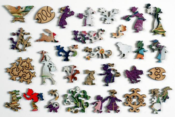 Hoppy Easter - Liberty Puzzles - 10